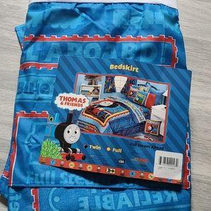 Thomas Full Steam Ahead Bedskirt